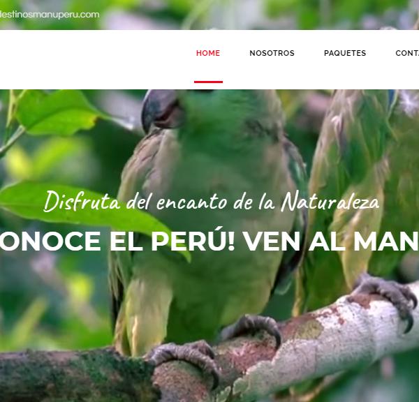 Manu – Agencia de viajes y turismo