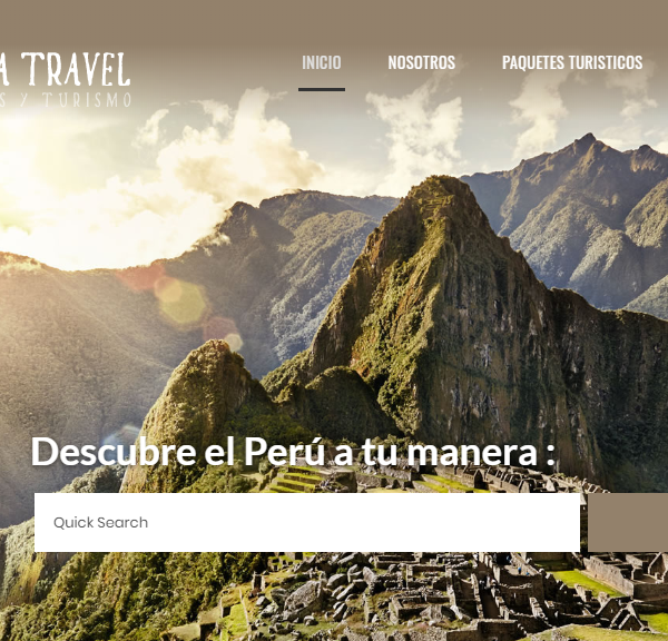 Secreto Inca travel – Agencia de viajes y turismo – Tour Operator