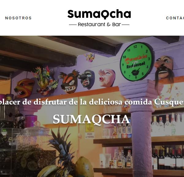 Sumaqcha Restaurant – Restaurante Sumaqcha – Cusco – Peru